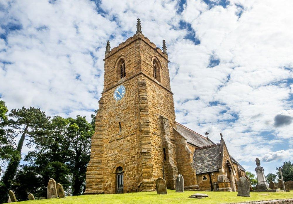 st john the baptist church in nettleton