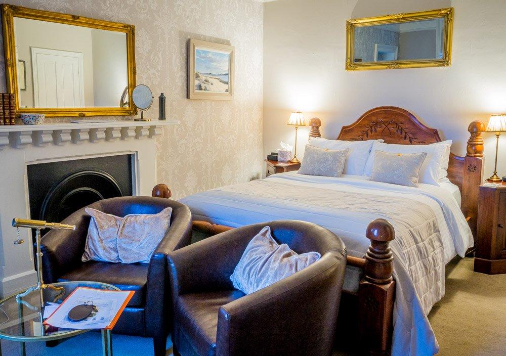 5 star room highcliffe house lynton