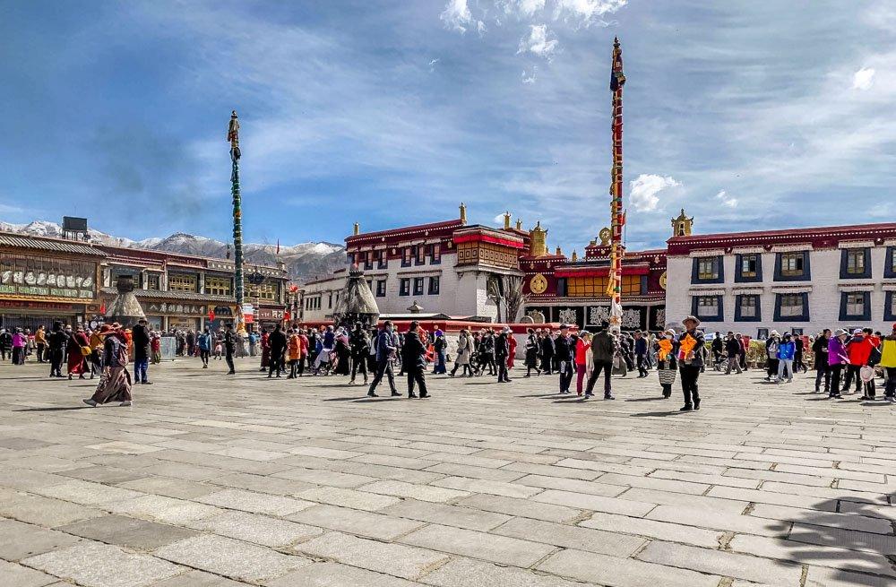 Lhasa old center
