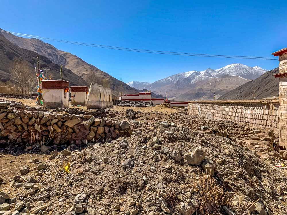 Nunnery outside Lhasa