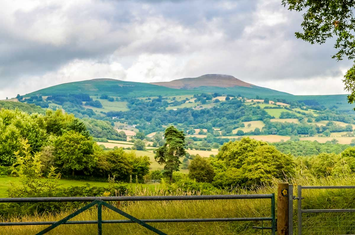 Brecon Canal Beacons view