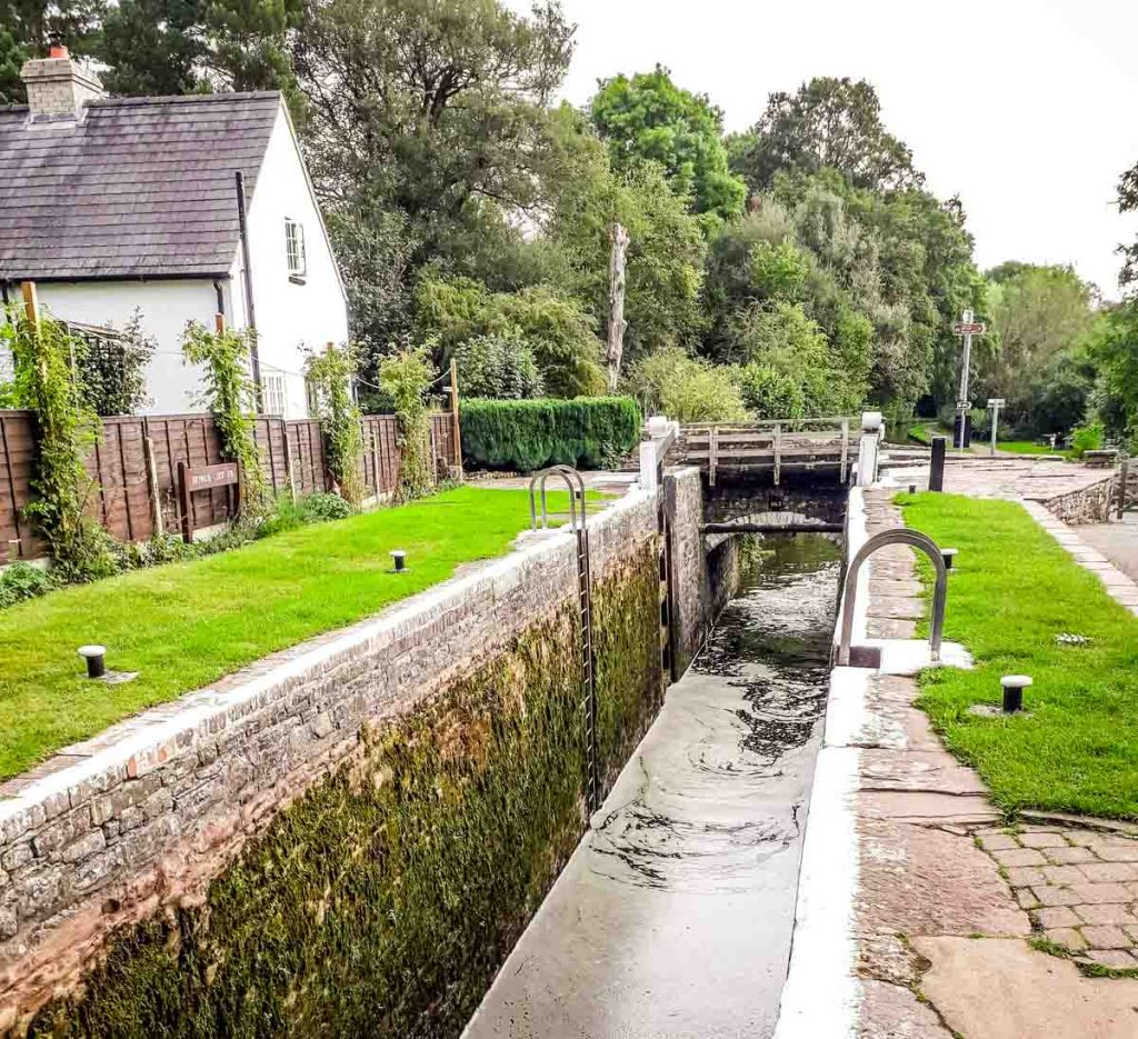 Brecon Canal Brynich Lock