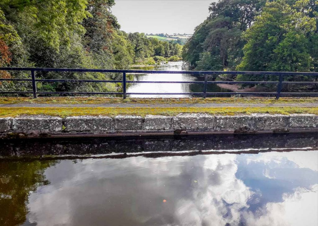 Brecon Canal View from aqueduct
