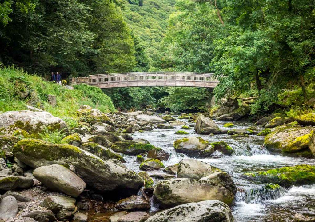 bridge over lyn river