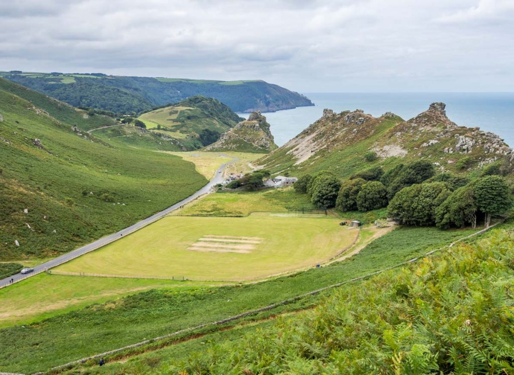 cricket pitch valley of rocks