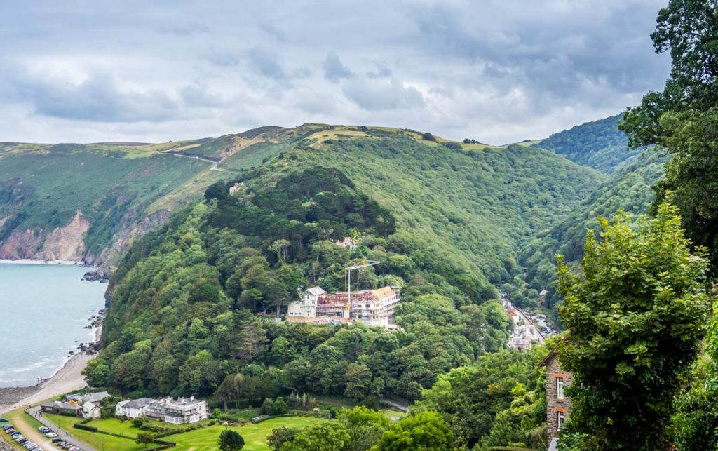 east lyn gorge and lynmouth