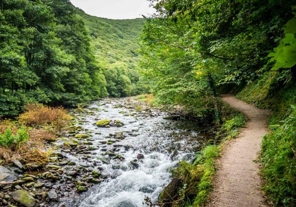 path by lyn river
