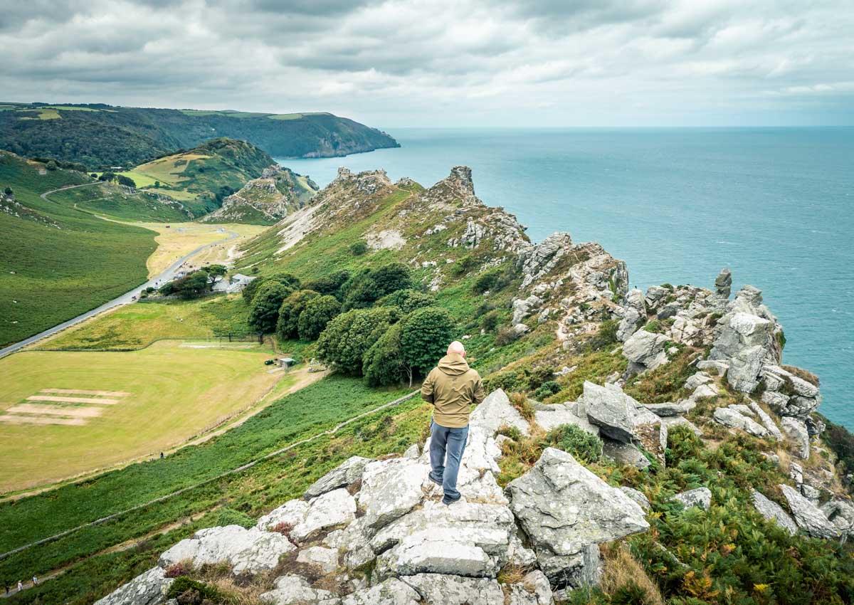 valley of rocks exmoor