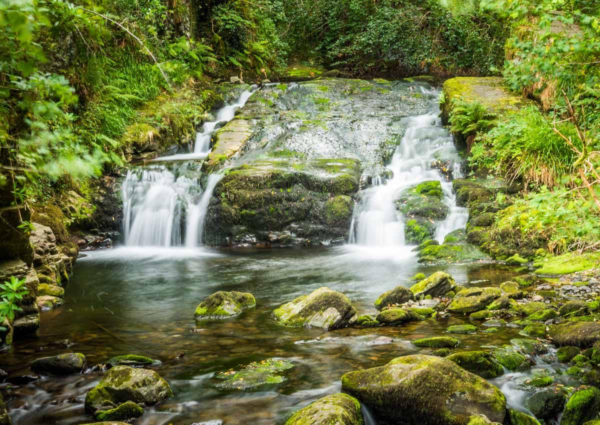waterfall at watersmeet