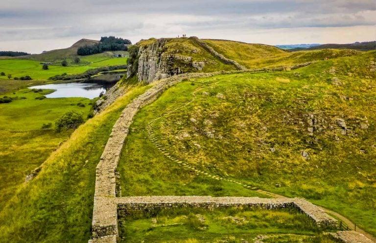 A Walk Along Hadrian's Wall