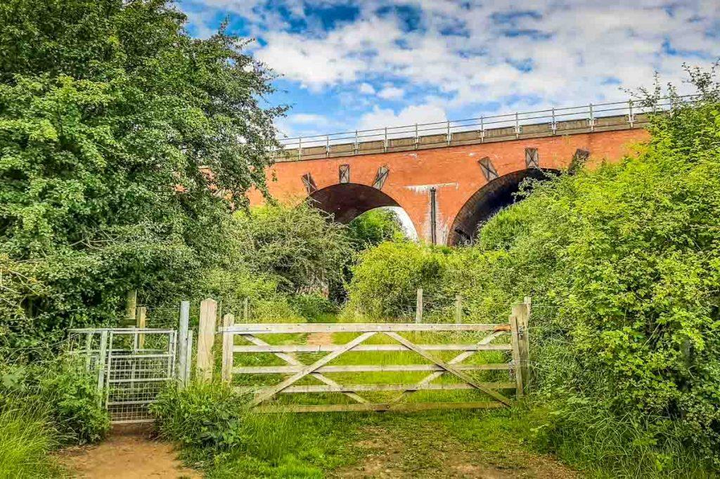viaduct at Woodhouse Washlands