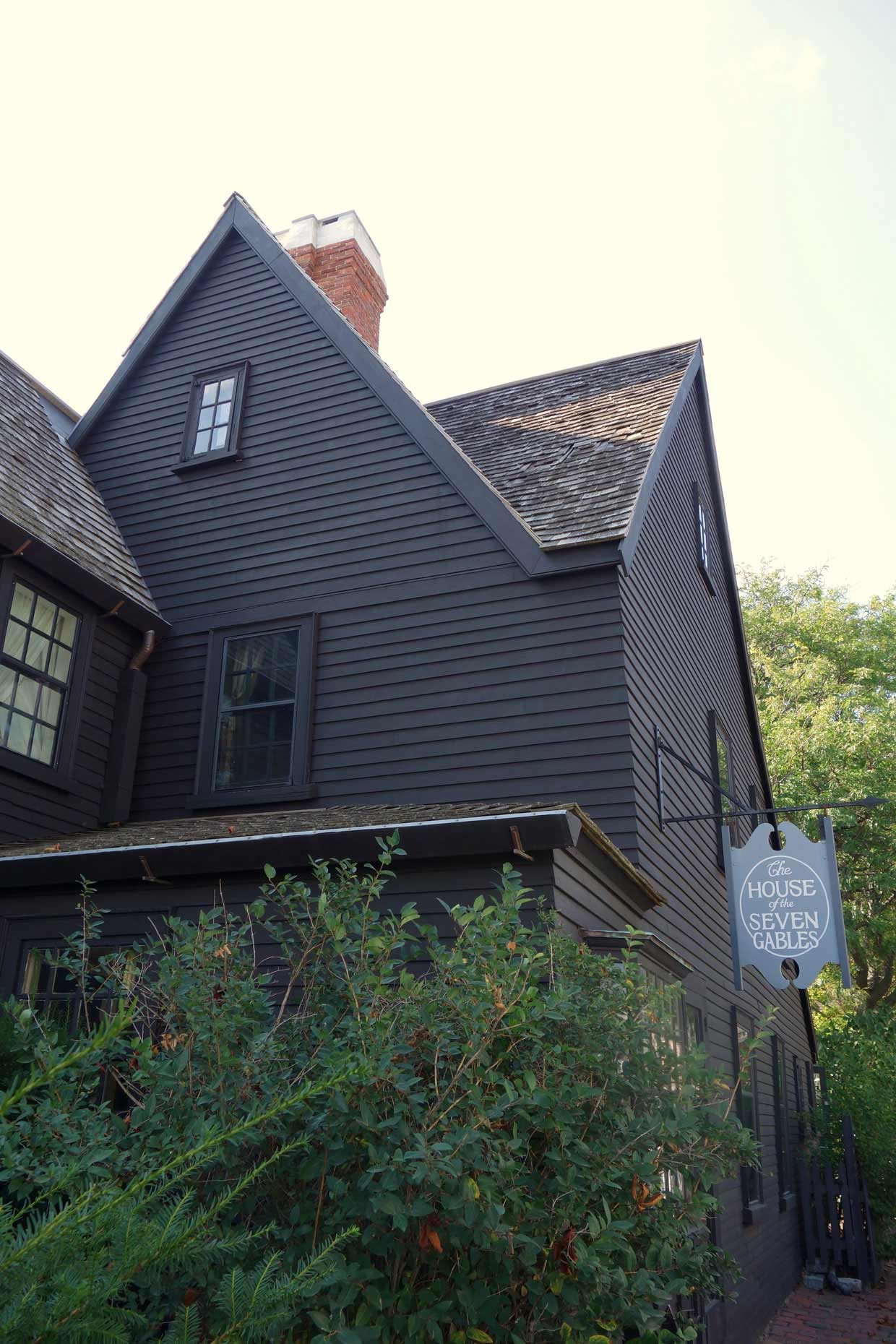 A whistle stop tour of Boston and Salem