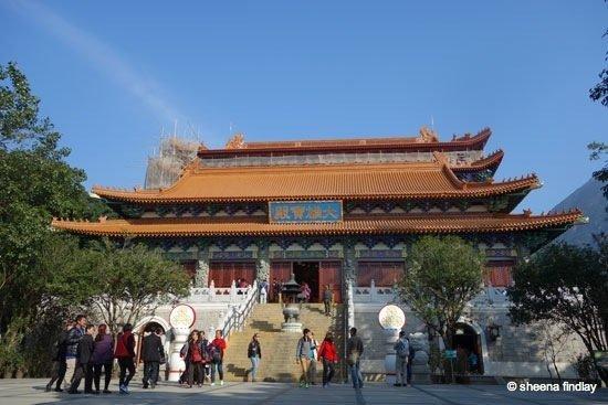 27.-Po-Lin-Monastery Tian Tan Buddha, Hong Kong
