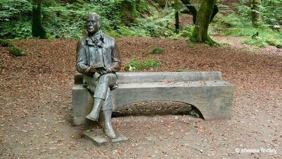 29.-Robert-Burns-bronze-statue-The-Rob-Roy-Way-Sept-2014 Rob Roy's Way – Part 2