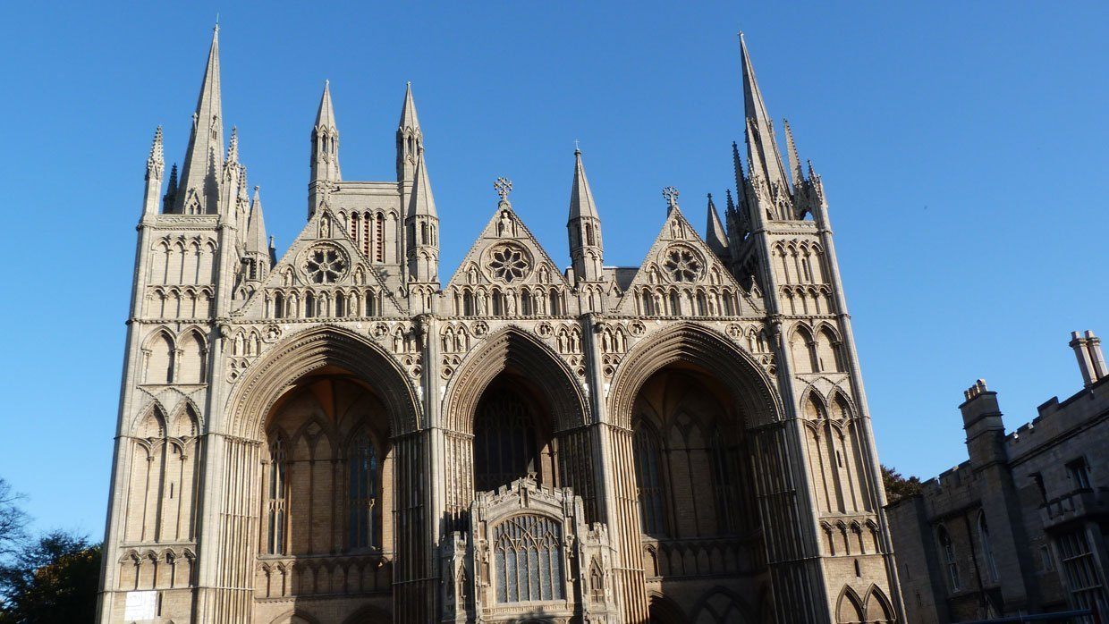 Peterborough Cathedral – around and within 1