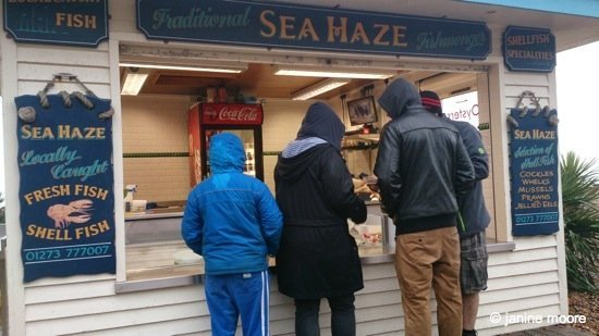 3.Sea-Haze-Seafood-Kiosk-brighton Brighton – A winter day trip