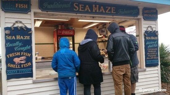 3.Sea Haze Seafood Kiosk- brighton