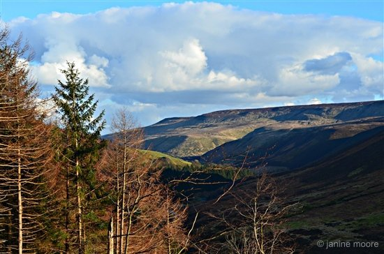 Wanders around Snake Pass