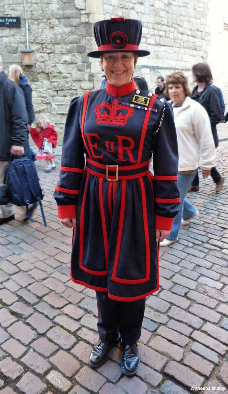 4.-Yeoman-Warder-Moira-Cameron The Tower of London and the 100 year anniversary of the First World War