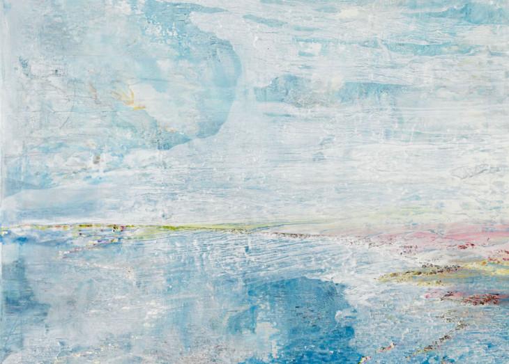 Flight  oil on canvas