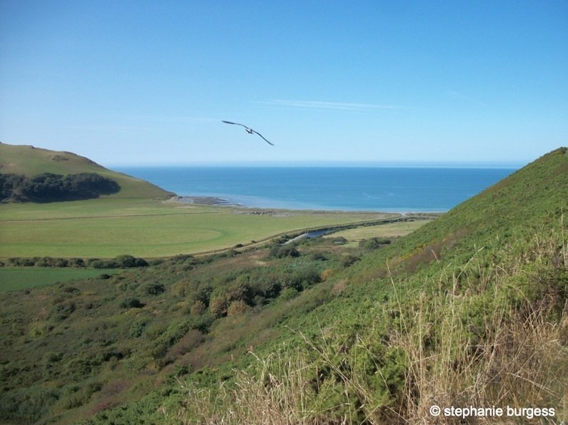 Wales - Pen Dinas Iron Age Hillfort, Aberystwyth
