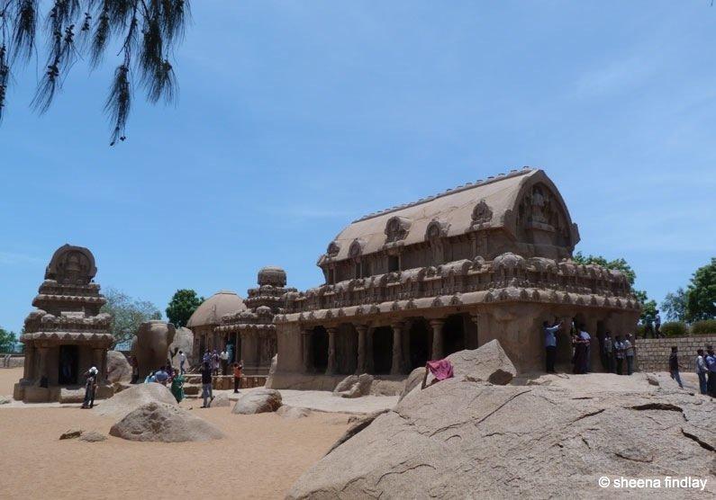 7.-F.R. India – The Stone carvings of Mamallapuram