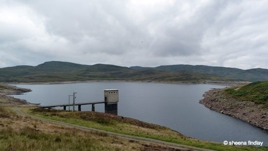 7.-Lochan-Breaclaich-hydroelectric-reservoir-The-Rob-Roy-Way-Sept-2014 Rob Roy's Way – Part 2