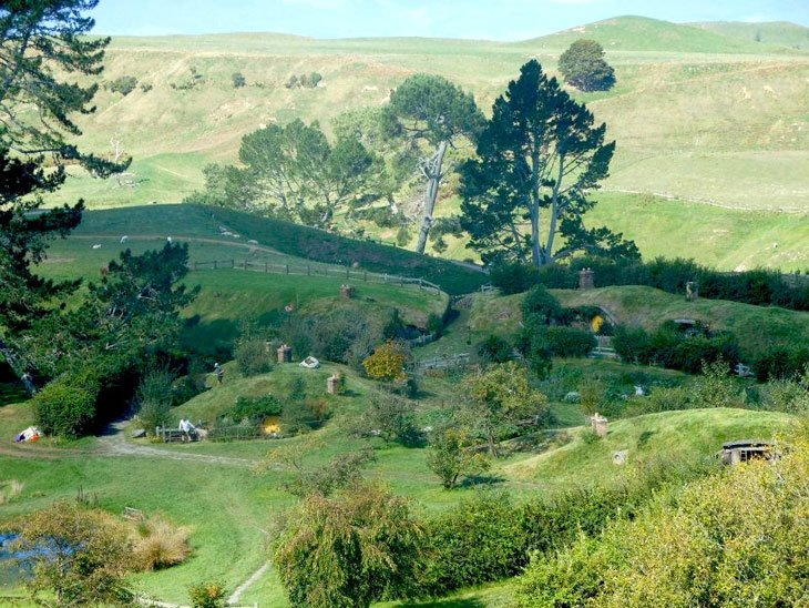 Hobbiton - A Very Real Idyll