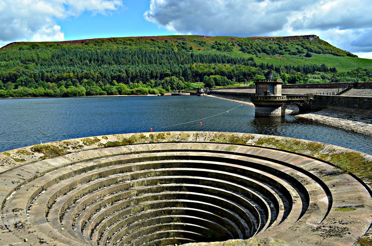 8.-Ladybower-Reservoir-and-Plug-Hole1 Hope Valley Circular Via Bamford Village
