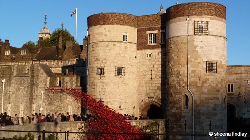 The Tower of London and the 100 year anniversary of the First World War 1
