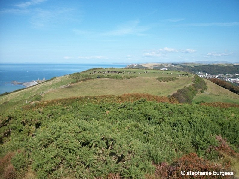87 Wales – Pen Dinas Iron Age Hillfort, Aberystwyth