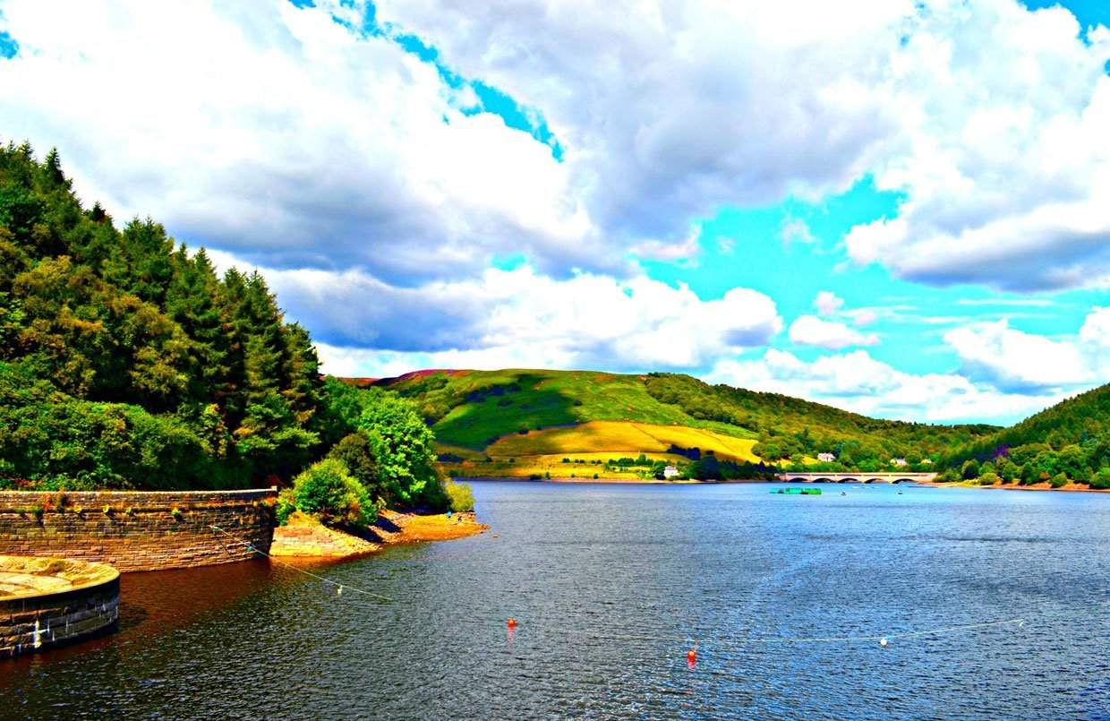 9.-Ladybower-Reservoir1 Hope Valley Circular Via Bamford Village