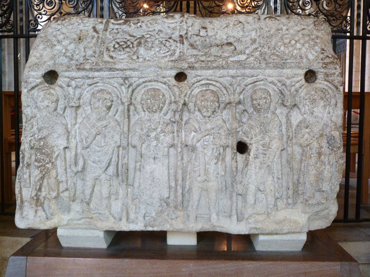 9.-The-Hedda-Stone1 Peterborough Cathedral – around and within