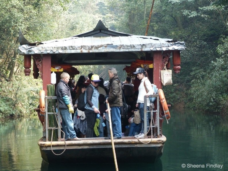 A-closer-look-at-the-ornate-boat-china A hike up and across Qingcheng Mountain of China