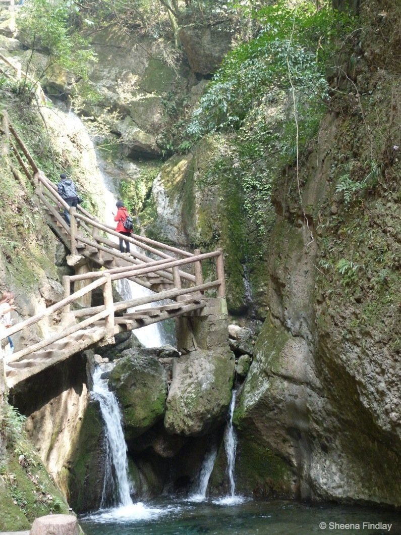 A-section-of-the-steps-china A hike up and across Qingcheng Mountain of China