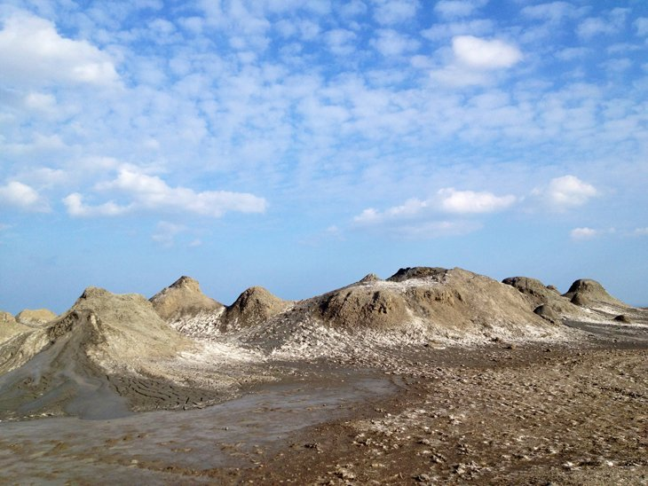 Azerbaijan - The Ancient Carvings And Mud Volcanoes Of Gobustan