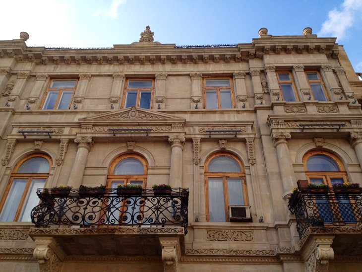 AZDay1_3 Azerbaijan – Old City Baku