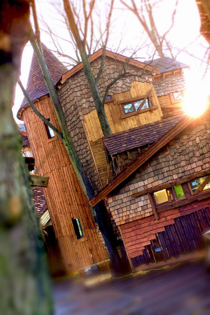 Alnwick Garden Treehouse – A Celebration of Nonsense by Sarah Beeny