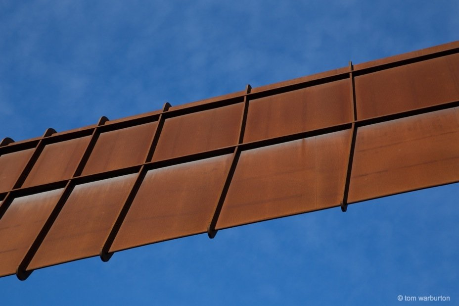 The Angel of the North close up