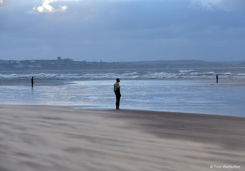 Another-Place-6-Antony-Gormley The figures of Another Place on Crosby Beach
