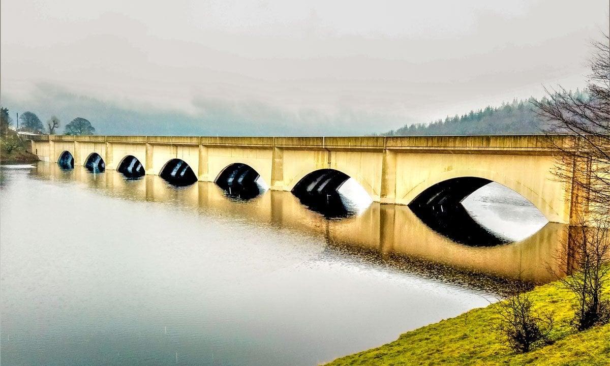 Ashopton-Viaduct A Derwent Dam Circular Walk in the Peak District