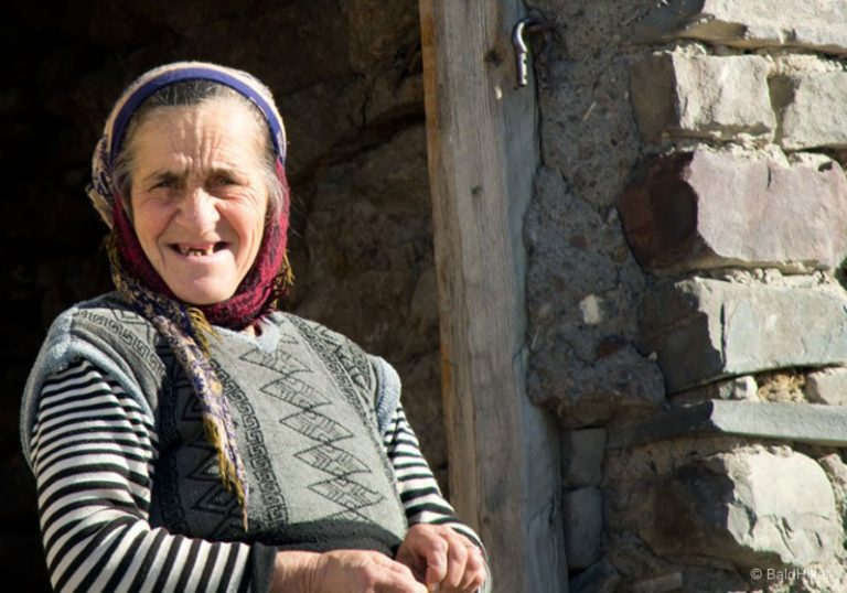 Azerbaijan – Local people passing by