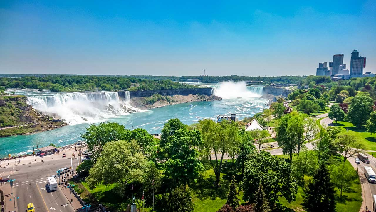 Balcony-View-from-Sheraton-Hotel Niagara Falls, an Experience with Memories to Treasure