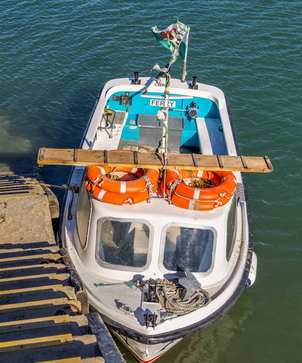 ferry boat harlech