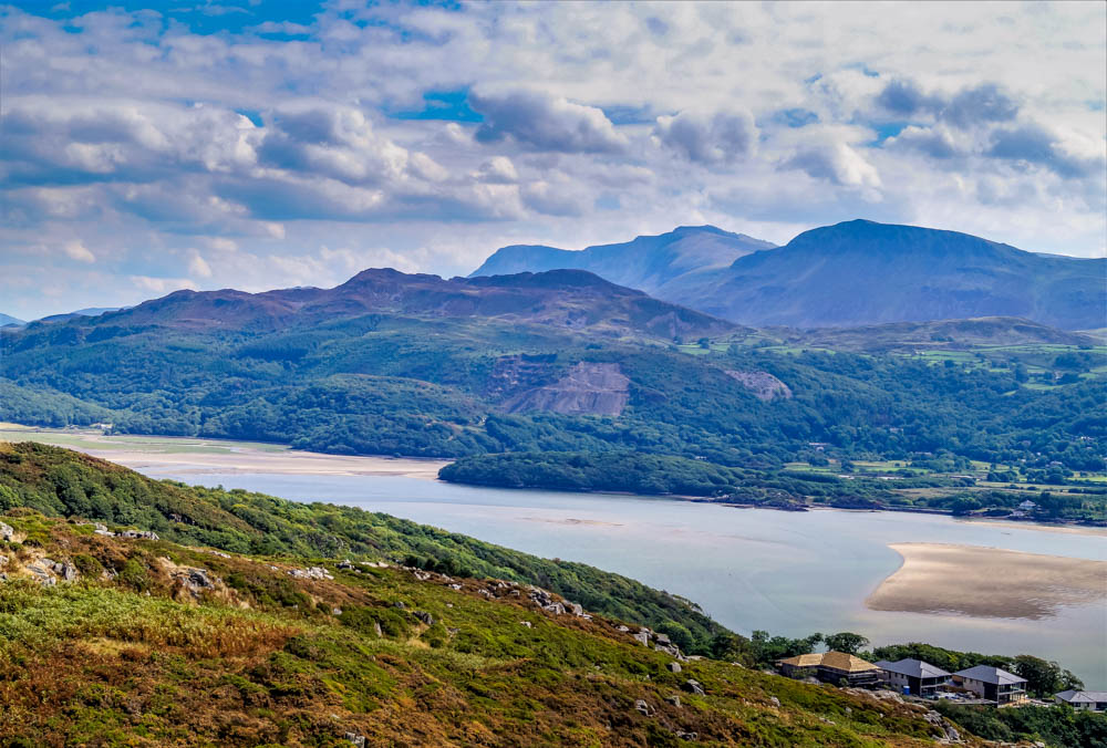 view from Dinas Oleu, Barmouth