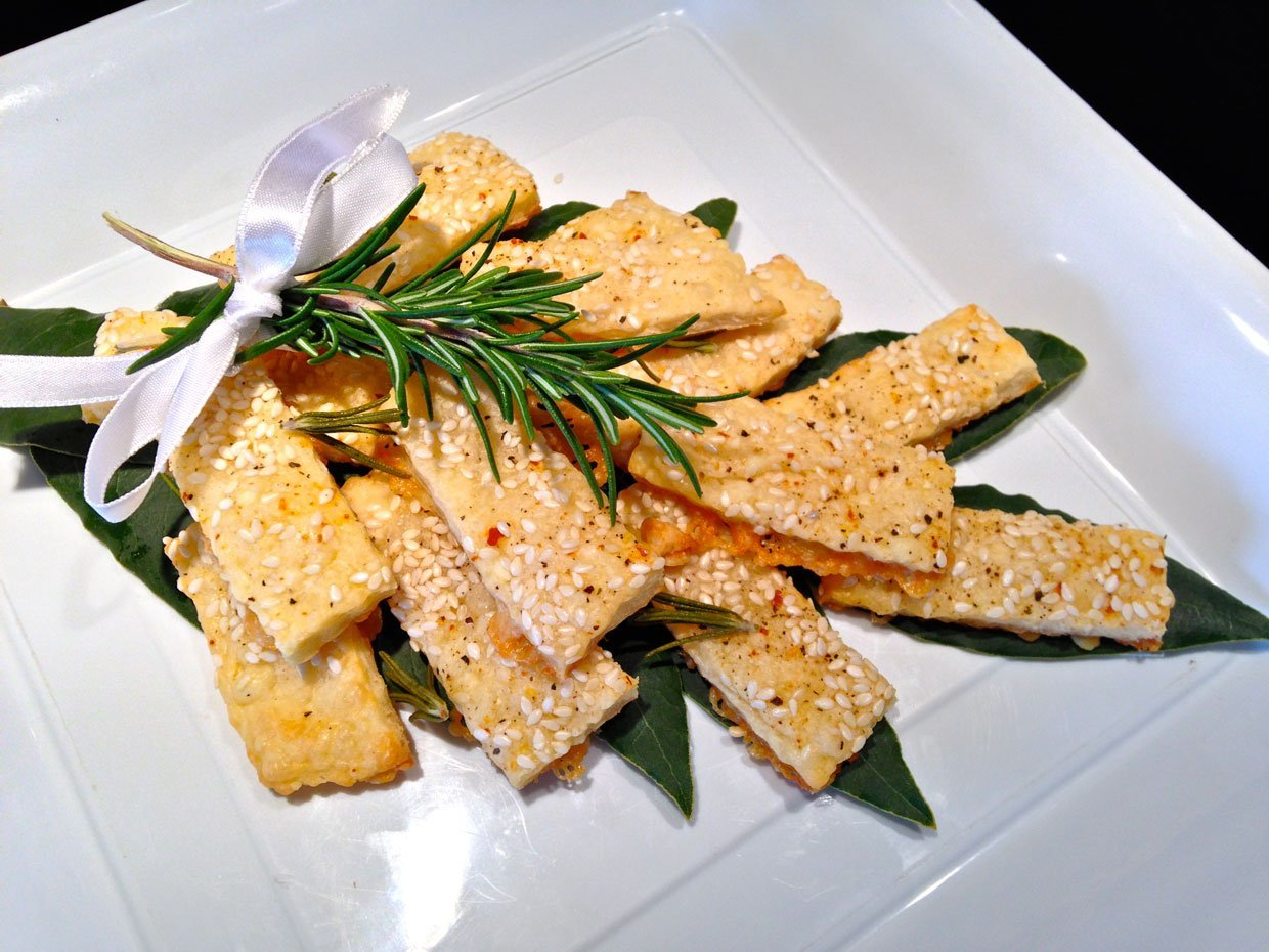 Chilli & Rosemary Cheddar Biscuits