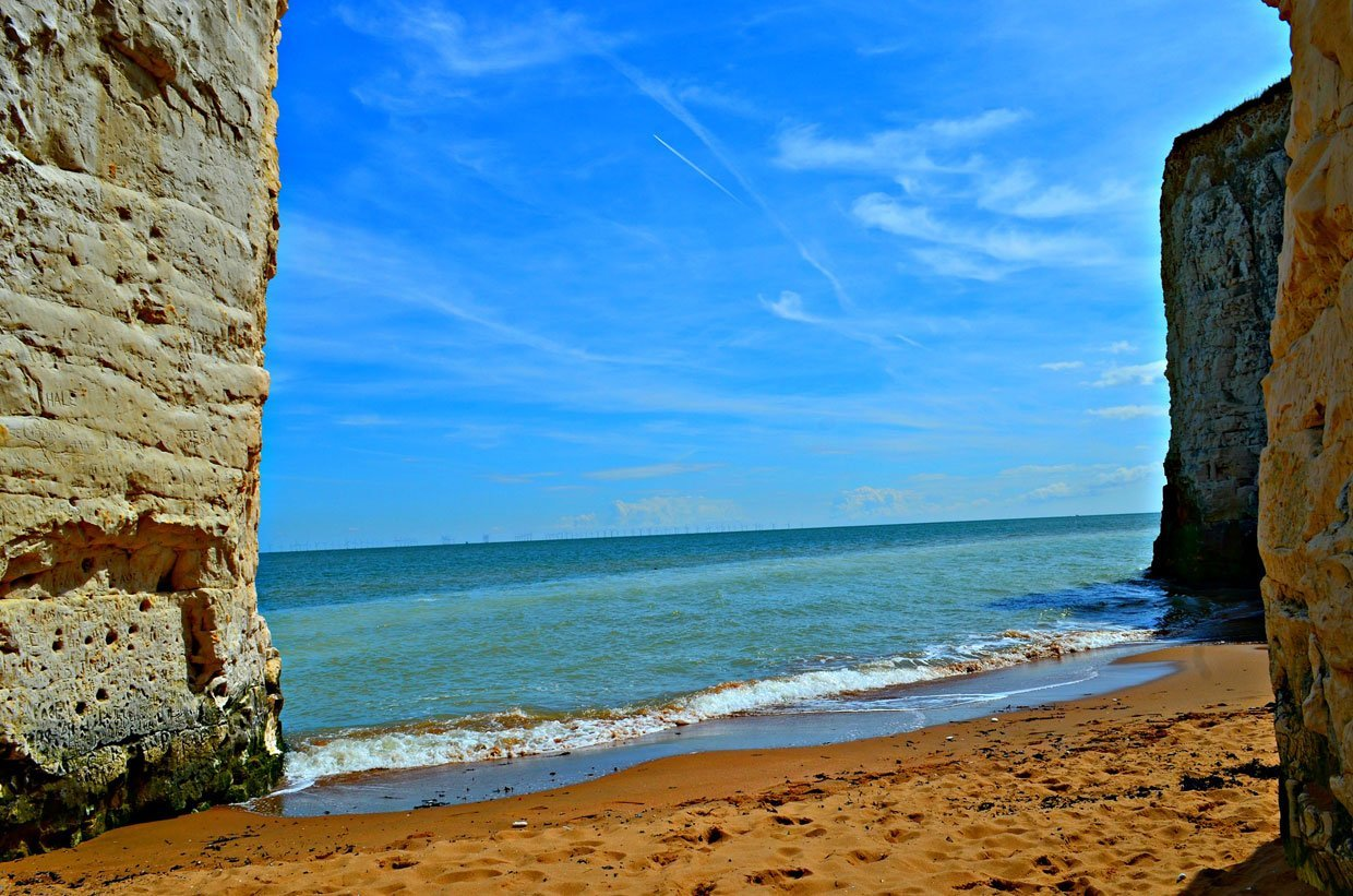 Blue-sky-beach A Stroll around Botany Bay & Tales of Smugglers in Kent