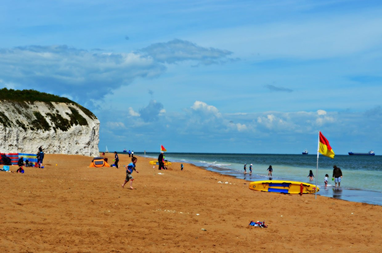 Botany-Bay-Beach A Stroll around Botany Bay & Tales of Smugglers in Kent