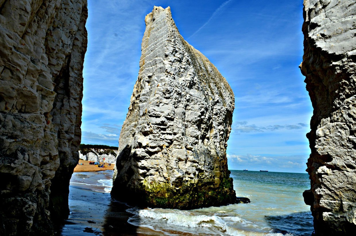 Botany-Bay-Rocks1 A Stroll around Botany Bay & Tales of Smugglers in Kent