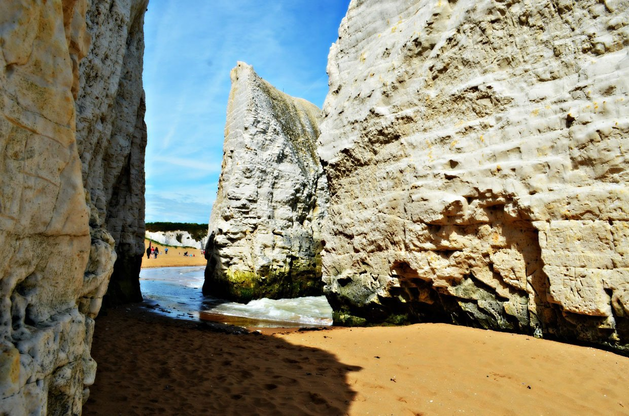 Botany-Bay-rocks-1 A Stroll around Botany Bay & Tales of Smugglers in Kent